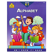 School Zone Grades K-1 Alphabet Workbook