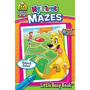 School Zone My First Mazes Little Busy Book