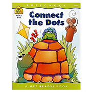 School Zone Preschool Connect The Dots Workbook, Ages 4-6