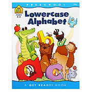 School Zone Preschool Lowercase Alphabet Workbook, Ages 4-6