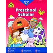 School Zone Preschool Scholar Workbook