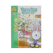 School Zone Try-n-Spy Adventure Workbook