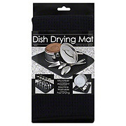 Schroeder & Tremayne Black Dish Drying Mat