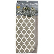 Schroeder & Tremayne Gray Trellis Mat XL 18x24 in