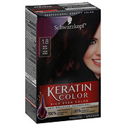 Schwarzkopf Keratin Color 1.8 Ruby Noir Anti Age Hair Color