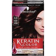 Schwarzkopf Keratin Color 4.6 Intense Cocoa Anti Age Hair Color