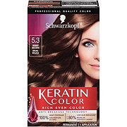 Schwarzkopf Keratin Color 5.3 Berry Brown Anti Age Hair Color