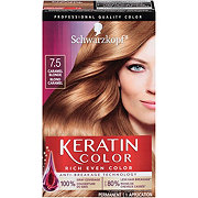 Schwarzkopf Keratin Color 7.5 Caramel Blonde Anti Age Hair Color