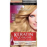 Schwarzkopf Keratin Color Silky Blonde 8.0 Anti Age Hair Color