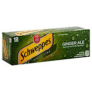 Schweppes Ginger Ale 12 PK Cans
