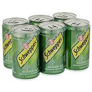 Schweppes Ginger Ale 7.5 oz Cans