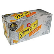 Schweppes Orange Sparkling Water 12 oz Cans