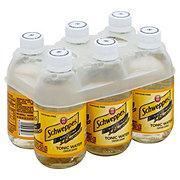 Schweppes Tonic Water 6 PK Glass Bottles