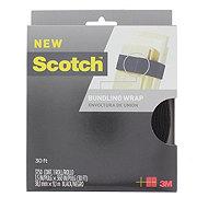 Scotch Bundling Wrap 30 ft, Black