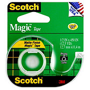 Scotch Magic Tape .5x450 in
