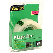 Scotch Magic Tape Refill Roll .75x500 in