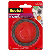 Scotch Magnetic Tape .5 in x 4 ft