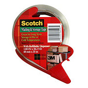 Scotch Mailing & Storage 1.88 inx38.2 yd Tape With Refillable Dispenser