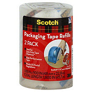 Scotch Packaging Tape Refills, 1.88 x 900 in