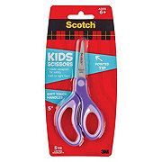 Scotch Soft Touch 5in Pointed Tip Kids Scissors