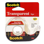 Scotch Transparent Tape .5x1000 in