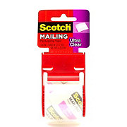 Scotch Ultra Clear Packaging Mailing Tape 1.88x1000 in