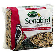 Scotts Songbird Selections Multi-Bird Snack With Fruits and Nuts Wild Bird Food