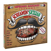 Screamin Sicilian Supremus Maximus Supreme Pizza
