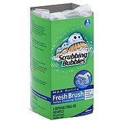 Scrubbing Bubbles Fresh Brush Max Disposable Single-Use Pad Refills