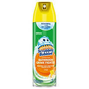 Scrubbing Bubbles Lemon Scent Bathroom Grime Fighter