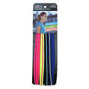 Scunci No Slip 9MM Contrast Silicone Headwraps, Assorted Colors