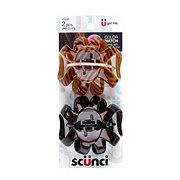 Scunci No-Slip Grip Beautiful Blends Octopus Clips Brunette