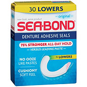 Sea-Bond Denture Adhesive Lowers Seals