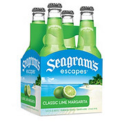 Seagram's Classic Lime Margarita 11.2 oz Bottles