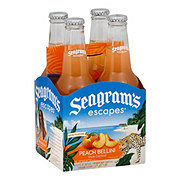 Seagram's Peach Fuzzy Navel 11.2 oz Bottles