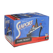 Seaport Dark Roast Single Serve Coffee K Cups