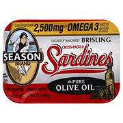 Season Imported Sardines in Pure Olive Oil
