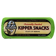 Season Naturally Smoked Kipper Snack Fillets of Herring