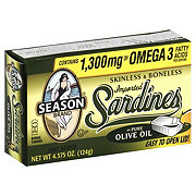Season Skinless And Boneless Imported Sardines in Pure Olive Oil