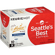 Seattle's Best House Blend Medium Roast Single Serve Coffee K Cups