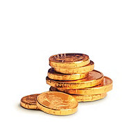 See's Candies Gold Foil Coins