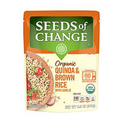 Seeds of Change Quinoa And Whole Grain Brown Rice With Garlic