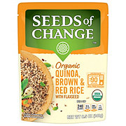 Seeds of Change Quinoa Brown & Red Rice With Flaxseed