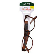 Select A Vision Clear Readers Glasses +1.75 Assorted Colors