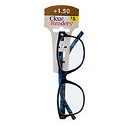 Select A Vision Clear Readers Glasses +1.50 Assorted Colors