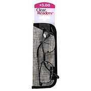 Select A Vision Metal Rectangle Black&Gunmetal +3.00