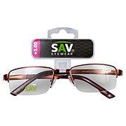Select A Vision Semi Rimless Metal +3.00