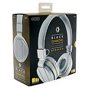 Sentry Black Diamond Headphones White