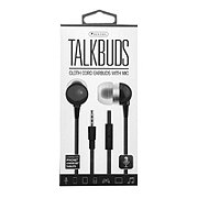 Sentry Black Talkbuds, Earbuds With Mic