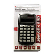 Sentry Dual Power Pocket Calculator